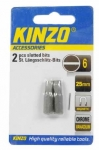 KINZO - bit PL6 25mm - 2ks