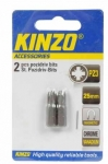 KINZO - bit PZ3 25mm - 2ks