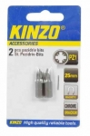 KINZO - bit PZ1 25mm - 2ks