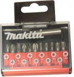 MAKITA - sada bitů 12ks:PH1,2,3,PZ1,2,3,T1 ,15,20,25,30